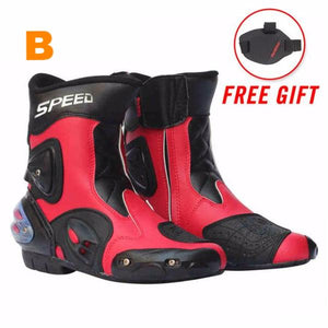 Ankle High Protective Motorcycle Boots