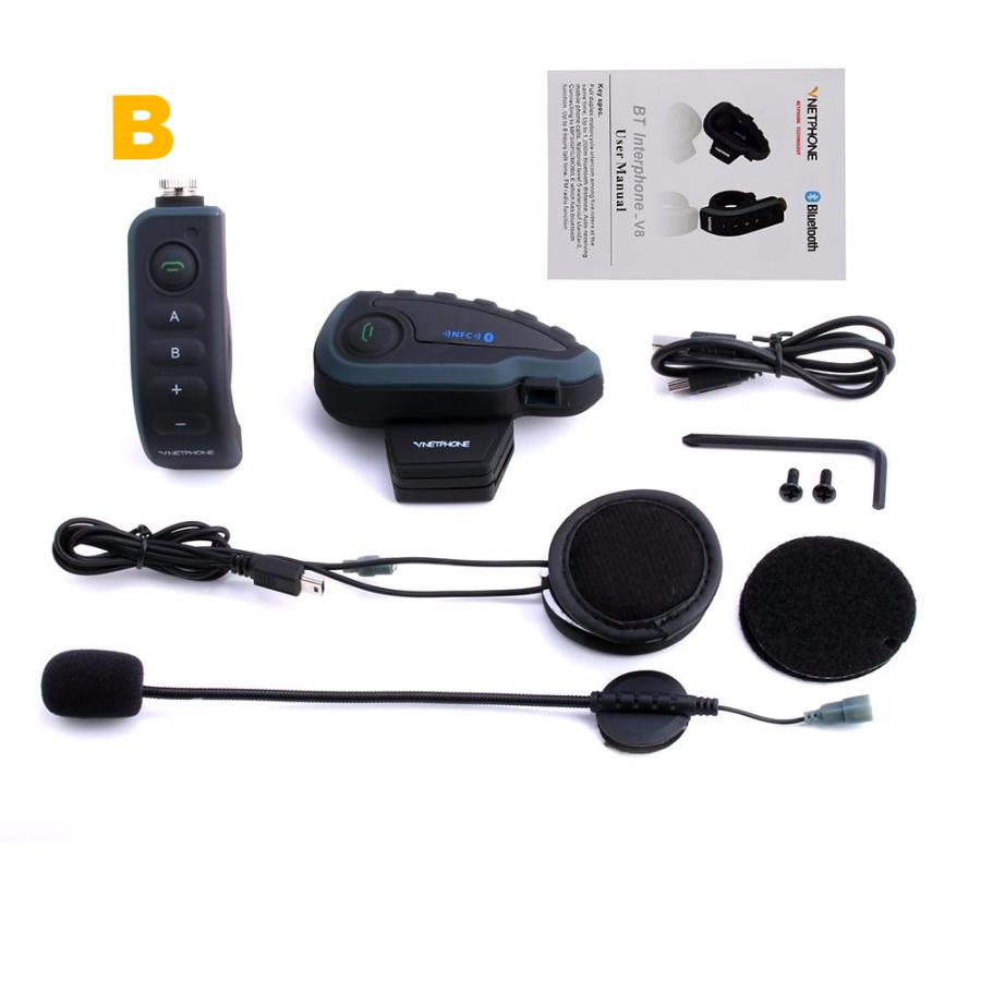 Bluetooth Intercom Motorcycle Helmet