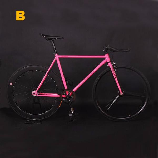 Retro Steel Frame Fixed Gear Bicycle