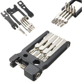 Multi-function High Quality Bicycle Repair Tool Kit Set 19 in 1 Hex Key Screwdriver Wrench