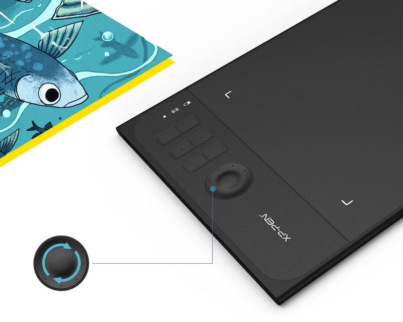 Wireless 2.4G Graphics Drawing/Painting Tablet with 8192 levels