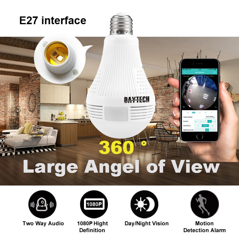 Recommended #1 Best Wireless Panoramic IP Camera | Affordable IP Wireless Panoramic Camera | Buy Wireless Panoramic IP Camera