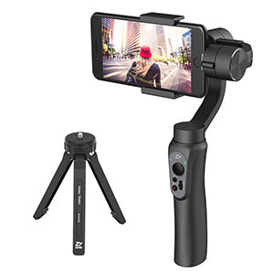 Smooth 3-Axis Handheld Phone Gimbal Stabilizer for iPhone and Android