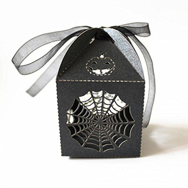 Cobweb Candy Box & Ribbon
