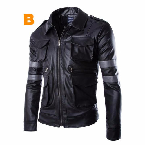 Hot BioWarning Leather Jacket.