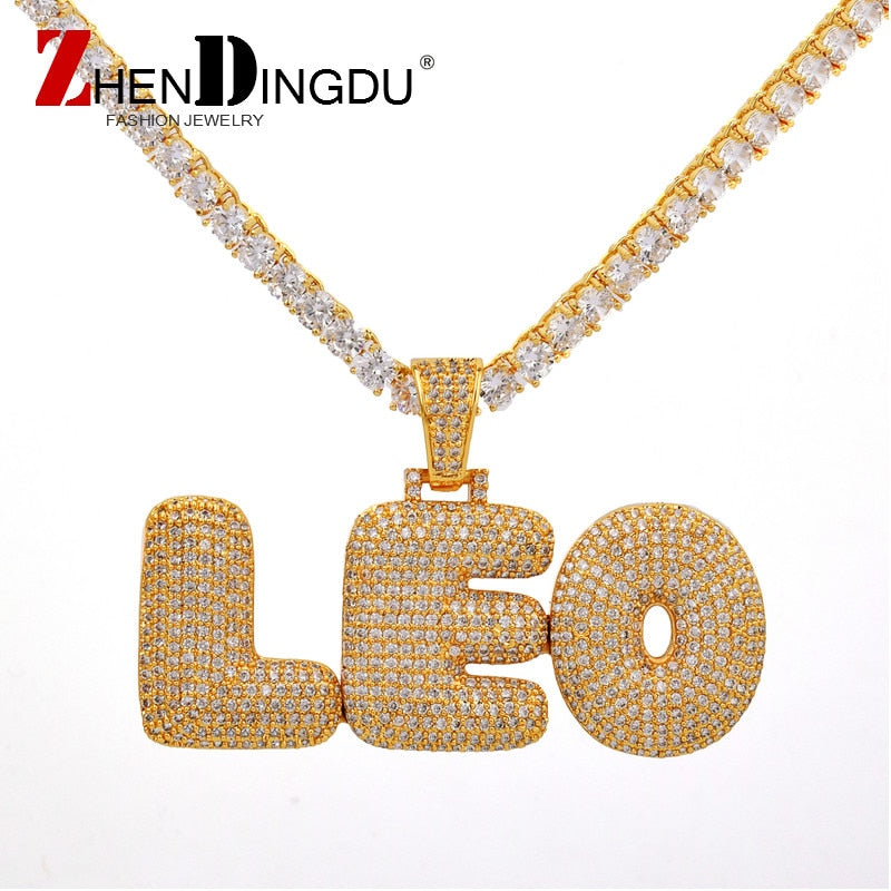 Recommended #1 Best Bubble Letters Chain Pendants Necklaces | Buy Bubble Letters Chain Pendants Necklaces