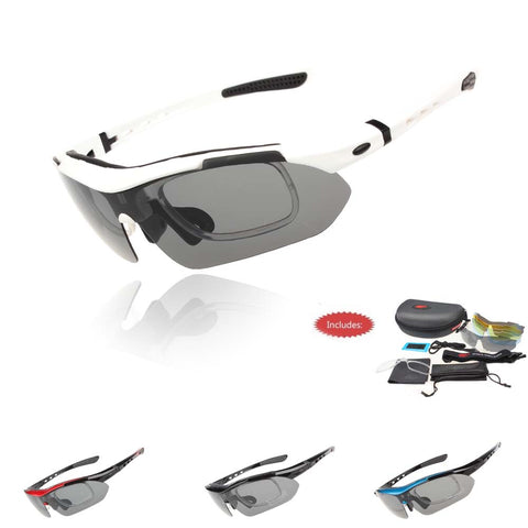 Professional UV 400 Polarized Cycling Glasses and Bike Goggles for Outdoor Sports
