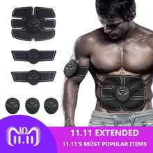Done Abdominal Muscle Trainer Sport Press Stimulator Gym Equipment training apparatus Home Electric Belly exercises Machine