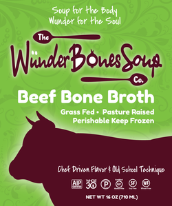 Grass Fed Beef Bone Broth 5 Pack