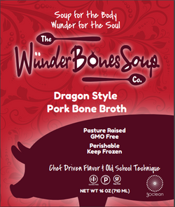 Dragon Style Pork Bone Broth 5 Pack