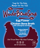 Egg Flower Chicken Bone Broth 5 pack