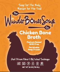 Free Range Chicken Bone Broth 5 pack