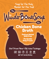 Chicken and Beef Bone Broth 6 Pack