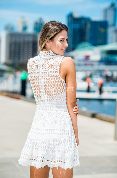 Zari lace dress