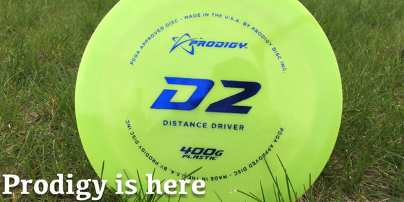 We now stock Prodigy Discs