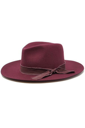 Unforgettable Burgundy Hat