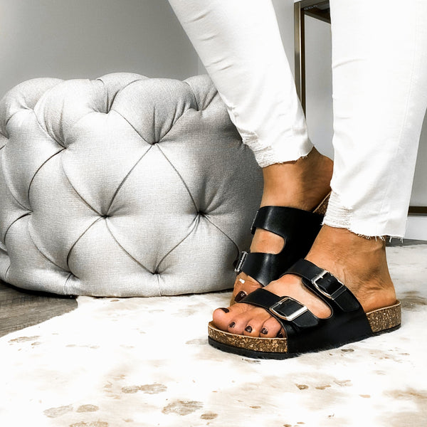 Wild About You Sandals - Black