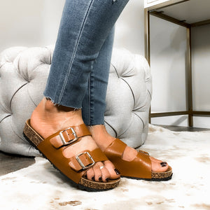 Wild About You Sandals - Chestnut