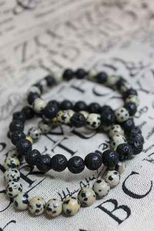 Traveling To The Moon Bead Bracelet
