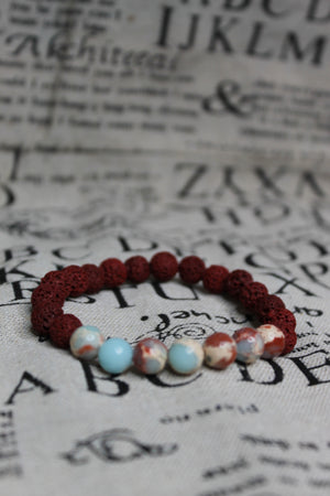 The Red Sea Bead Bracelet