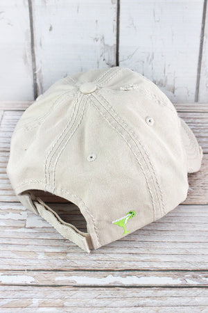 Distressed Stone 'Mamacita Needs A Margarita' Hat