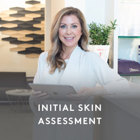 INITIAL SKIN ASSESSMENT, PLAN DESIGN & COACHING