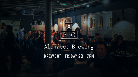 Alphabet Brewing at Brewbot — Tasting Tickets