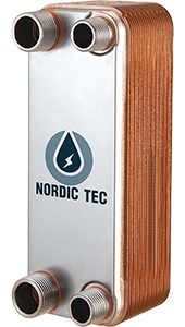 Stainless Steel Heat Exchanger / Wort Chiller (Nordic Tec Ba-12-30)