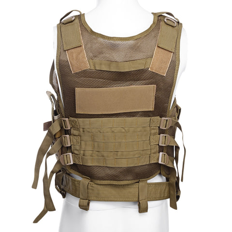 Outlife Outdoor Hunting Military Tactical Paintball Molle Vest