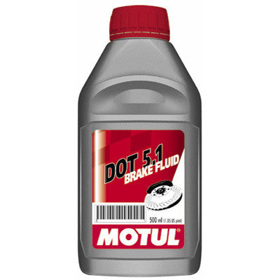 Motul Brake Fluid DOT 5.1 .5 Liter for Atv