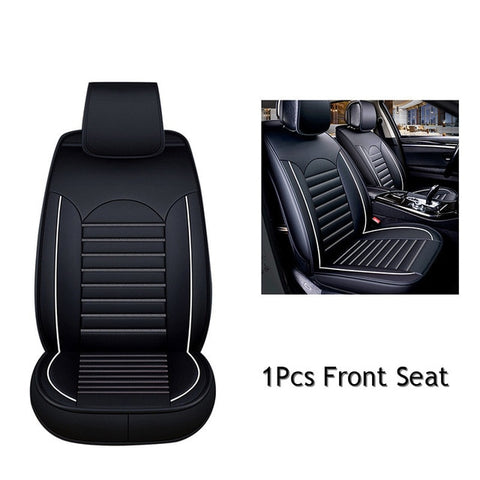 Universal Car Seat Cover PU Leather Automobile Seat Covers Car Seat Cover Vehicle Seat Protector Car Styling Interior Accessorie