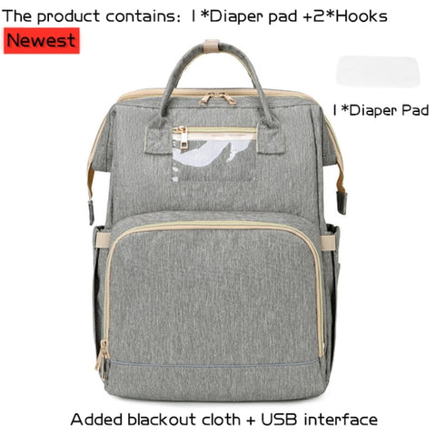 Portable Bassinet For Baby Foldable Baby Bed Bag Newborn Travel Indoor Bed Backpack Bed Breathable Infant Sleeping Basket