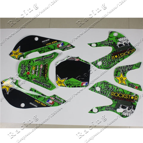 3M Decals Stickers Graphics For 02-08 KLX110 KX65 DRZ110 pit dirt Bike Motocross 3