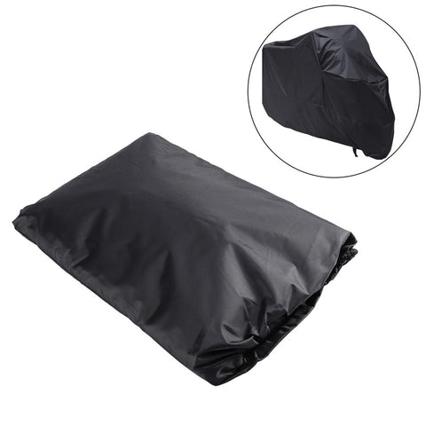 Universal Outdoor Motorcycle Motorbike ATV Scooter Dustproof Waterproof Sun Block Protective Cover Rain Cover Protector 265cm Long