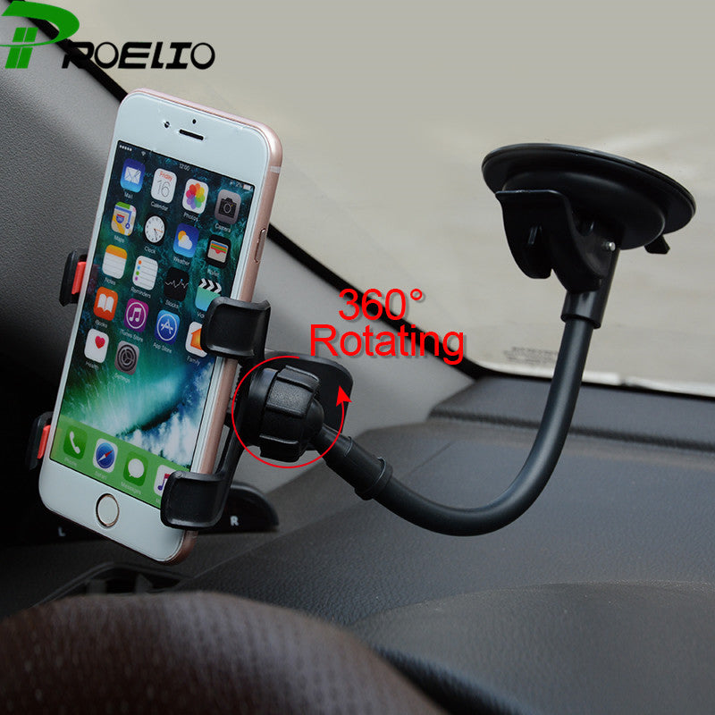 Car Windshield Cup Car Phone Holder For iPhone 7 6s 6 plus Samsung
