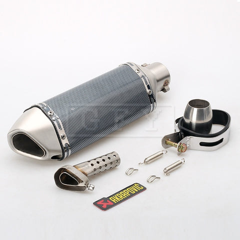 51MM Akrapovic Motorcycle Exhaust Yamaha Honda KTM Kawasaki Ducati Slipon