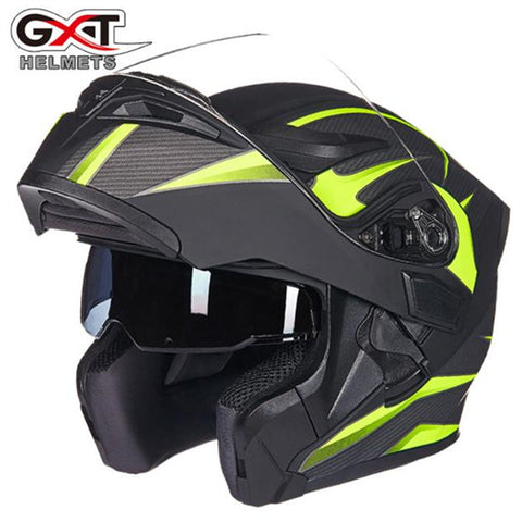 Quality Flip up Double lens helmets GXT 902 model motorbike helmets