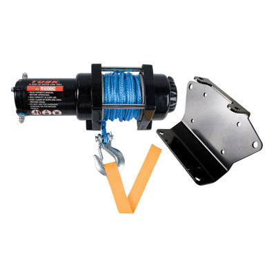 Tusk Winch with Synthetic Rope and Mount Plate 3500 lb.Weight: 31.3 lbs. fits Yamaha Grizzly and Kodiak