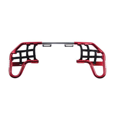 buy Tusk Comp Series Nerf Bars Red With Black Webbing for $92.99