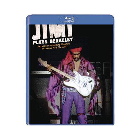 Jimi Plays Berkeley BluRay