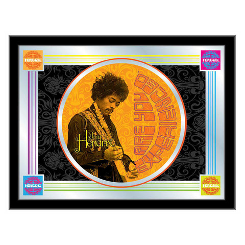 Jimi Hendrix (AYE - Orange) Mirror