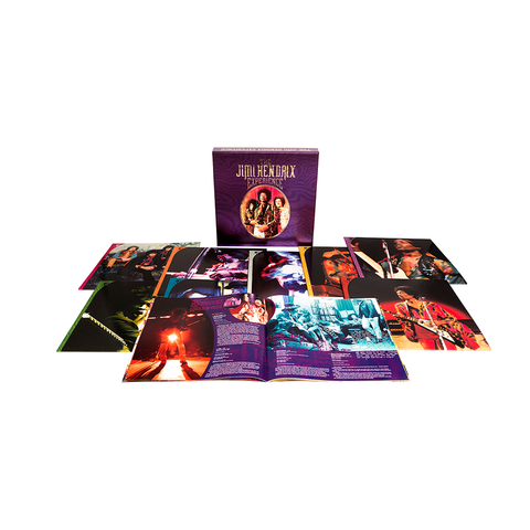 The Jimi Hendrix Experience: 8 LP Box Set