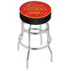 Jimi Hendrix Stool - JHE (Red) - Chrome Base