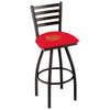 Jimi Hendrix Stool - JHE (Red) - Ladder Back