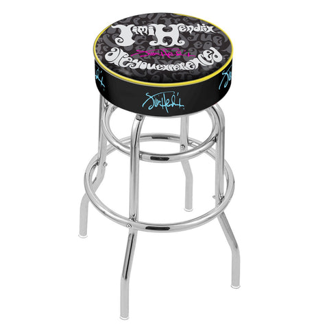 Jimi Hendrix Stool - AYE (Jumble) - Chrome Base