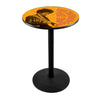 Jimi Hendrix AYE (Orange) Pub Table