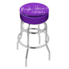 Jimi Hendrix Stool (Purple Haze) - Chrome Base