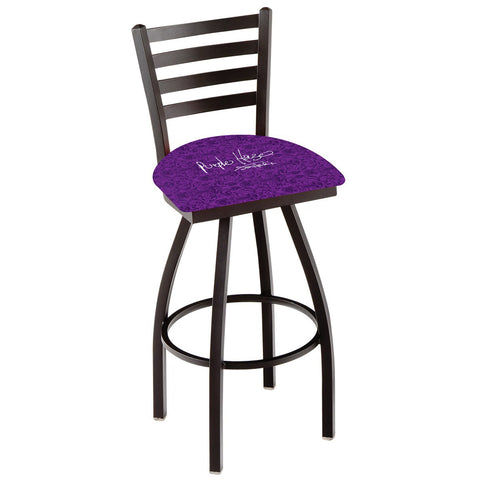 Jimi Hendrix Stool (Purple Haze) - Ladder Back