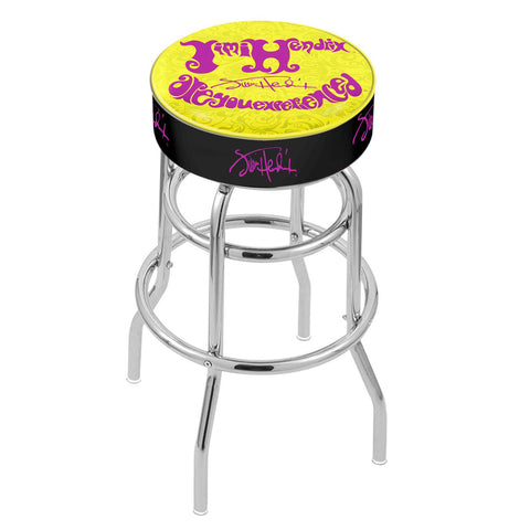 Jimi Hendrix Stool - AYE (Yellow) - Chrome Base