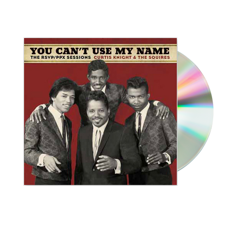 You Can't Use My Name CD